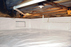 Crawl Space Repair After in Santa Rosa