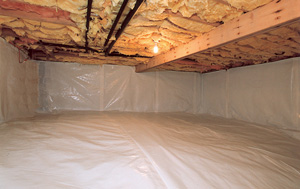CleanSpace® vapor barrier after in Santa Rosa